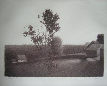 Untitled Landscape 1971 Limited Edition Print by Robert Kipniss
