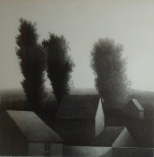 Rooftops I Limited Edition Print by Robert Kipniss