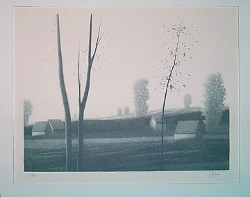 Untitled Landscape Limited Edition Print - Robert Kipniss