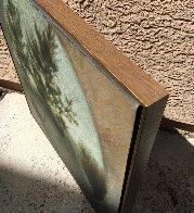 Attic Window 1968 25x27 (Very Early) Original Painting by Robert Kipniss - 2