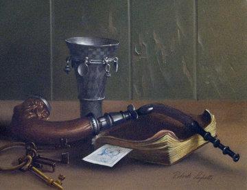 Still Life 12x16 Original Painting - Roberto Lupetti