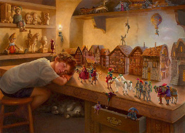 Toymakers' Son 2003 Limited Edition Print - Roberto Lupetti
