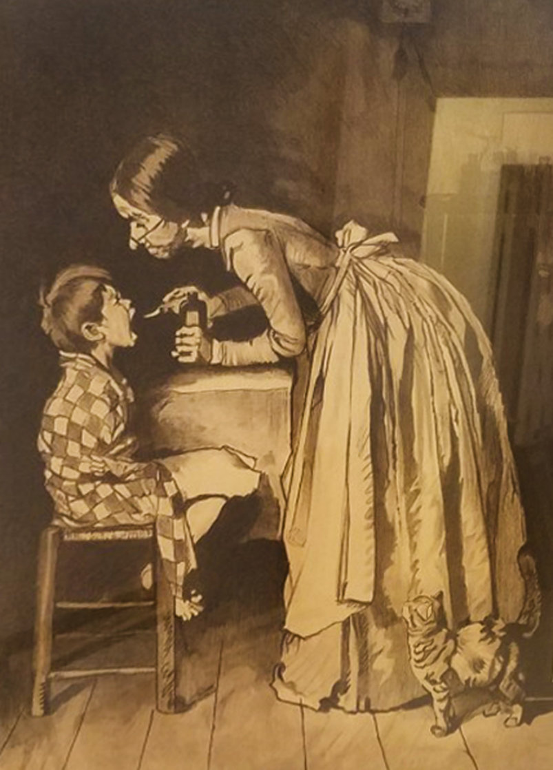 Medicine AP 1971 HS Limited Edition Print by Norman Rockwell