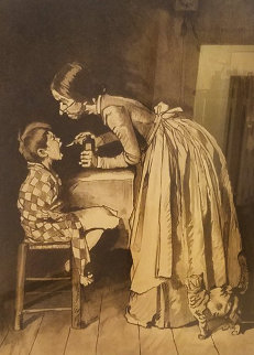 Medicine AP 1971 HS Limited Edition Print - Norman Rockwell