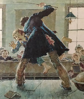 Spanking AP 1973 Limited Edition Print by Norman Rockwell - 0