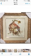 Four Ages of Love - Fondly Do We Remember AP 1977 Limited Edition Print by Norman Rockwell - 5