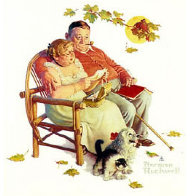 Four Ages of Love - Fondly Do We Remember AP 1977 Limited Edition Print by Norman Rockwell - 2