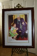 Doll Doctor 2005 Limited Edition Print by Norman Rockwell - 2