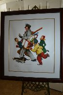 Jolly Postman 2005 Limited Edition Print by Norman Rockwell - 2