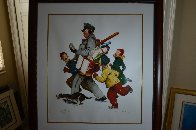 Jolly Postman 2005 Limited Edition Print by Norman Rockwell - 1