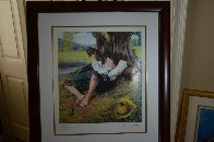 Boy Under Tree 2005 Limited Edition Print by Norman Rockwell - 1