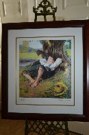 Boy Under Tree 2005 Limited Edition Print by Norman Rockwell - 2