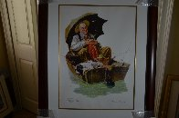 Gone Fishing 2005 Limited Edition Print by Norman Rockwell - 2