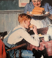 City Boy, Country Boy, Last Ear of Corn, Childhood Memories Suite of 4 Limited Edition Print by Norman Rockwell - 2