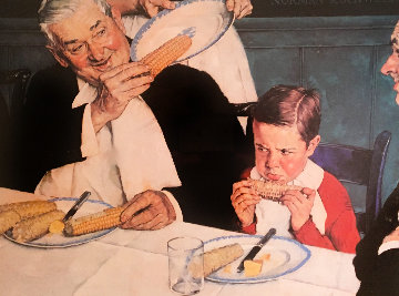 Last Ear of Corn Limited Edition Print by Norman Rockwell