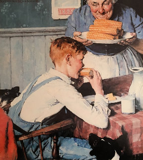 Country Boy Limited Edition Print by Norman Rockwell
