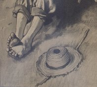 Tom Sawyer, First Smoke AP 1935 Limited Edition Print by Norman Rockwell - 4