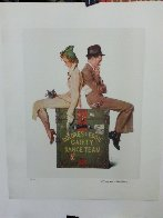 Gaiety Dance Team 1973 Limited Edition Print by Norman Rockwell - 1