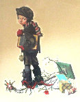 After Christmas 1976 Limited Edition Print - Norman Rockwell