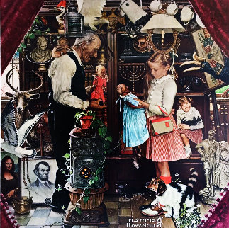 April Fool 1976 Limited Edition Print - Norman Rockwell