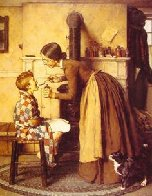 Medicine AP 1977 Limited Edition Print by Norman Rockwell - 0