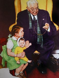 Doctor And Doll Limited Edition Print - Norman Rockwell