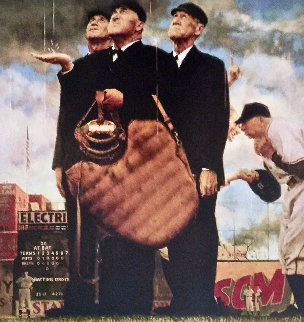 Tough Call Limited Edition Print by Norman Rockwell
