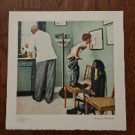 Before the Shot Limited Edition Print by Norman Rockwell - 1