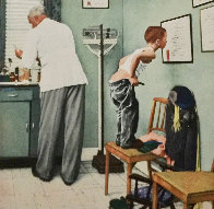 Before the Shot Limited Edition Print by Norman Rockwell - 0