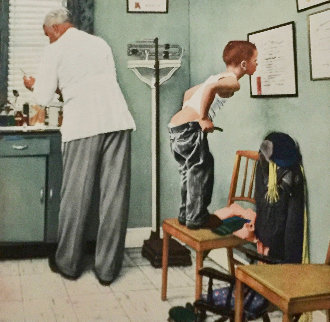 Before the Shot Limited Edition Print - Norman Rockwell