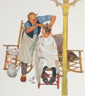 Summer's Start - Encore Edition 1977 Limited Edition Print by Norman Rockwell