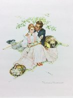 Tender Bloom AP 1955 Limited Edition Print by Norman Rockwell - 1