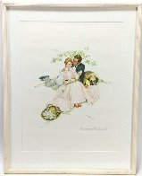 Tender Bloom AP 1955 Limited Edition Print by Norman Rockwell - 2