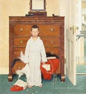 Discovery 1956 Limited Edition Print - Norman Rockwell
