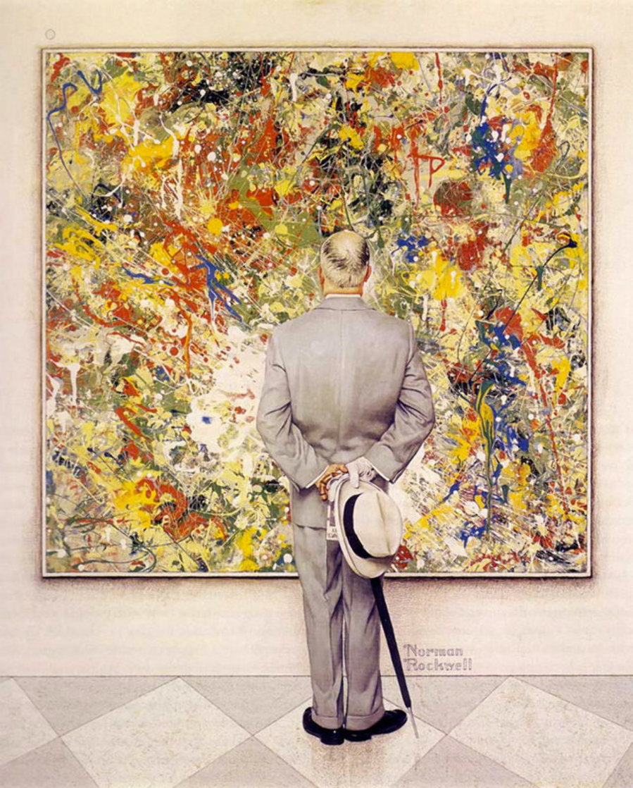 Connisseur AP Limited Edition Print by Norman Rockwell