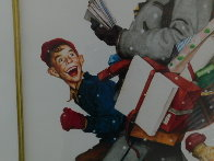 Jolly Postman 2005 Limited Edition Print by Norman Rockwell - 4