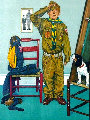 Can't Wait  Limited Edition Print - Norman Rockwell