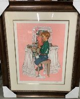 Secrets AP 1976 Limited Edition Print by Norman Rockwell - 1