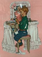 Secrets AP 1976 Limited Edition Print by Norman Rockwell - 2