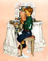 Secrets AP 1976 Limited Edition Print by Norman Rockwell - 0