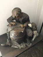 Pen Pals Bronze Sculpture 21 in Sculpture by Norman Rockwell - 2