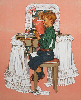 Secrets Limited Edition Print by Norman Rockwell