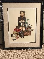 Back From Camp AP 1976 Limited Edition Print by Norman Rockwell - 1