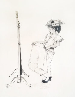 Dressing Up AP 1973 Limited Edition Print by Norman Rockwell