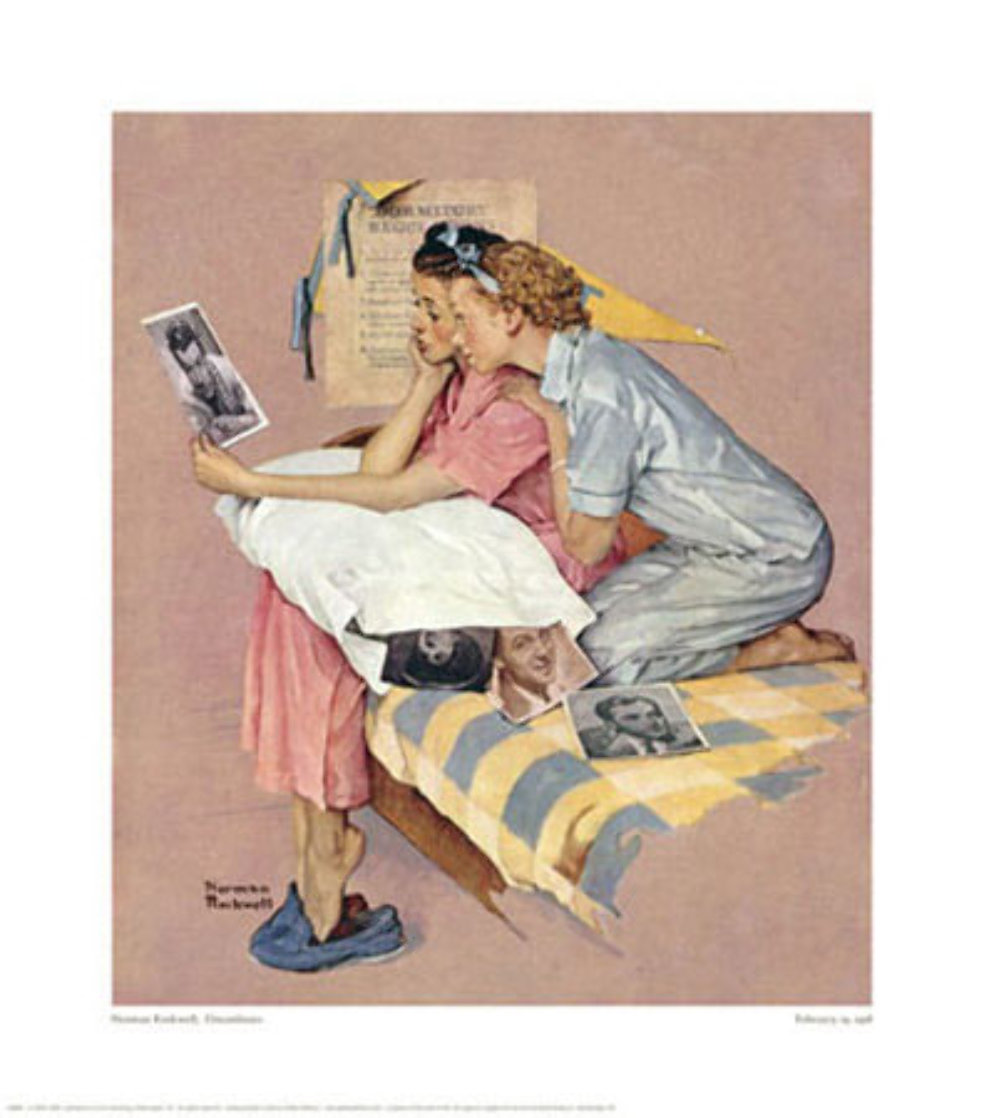 Dreamboats 1976 Limited Edition Print by Norman Rockwell