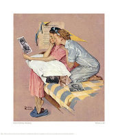Dreamboats 1976 Limited Edition Print by Norman Rockwell - 0