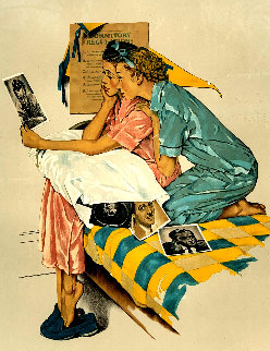 Dreamboat 1976 Limited Edition Print - Norman Rockwell