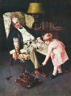 Pals 1976 Advertisement for Bissell Limited Edition Print by Norman Rockwell - 2