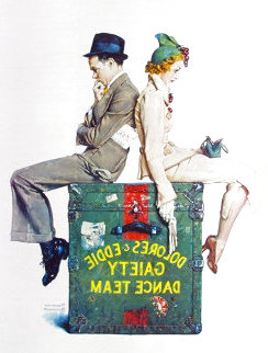 Gaiety Dance Team 1978 Limited Edition Print - Norman Rockwell