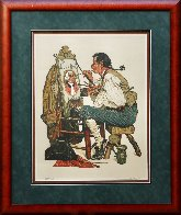Ye Pipe And Bowl AP Limited Edition Print by Norman Rockwell - 1
